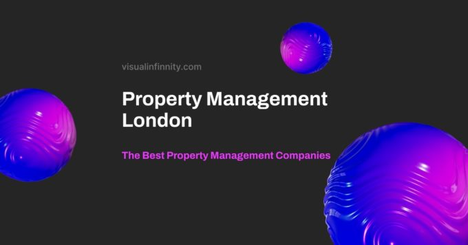 property management london is displayed against a dark background.